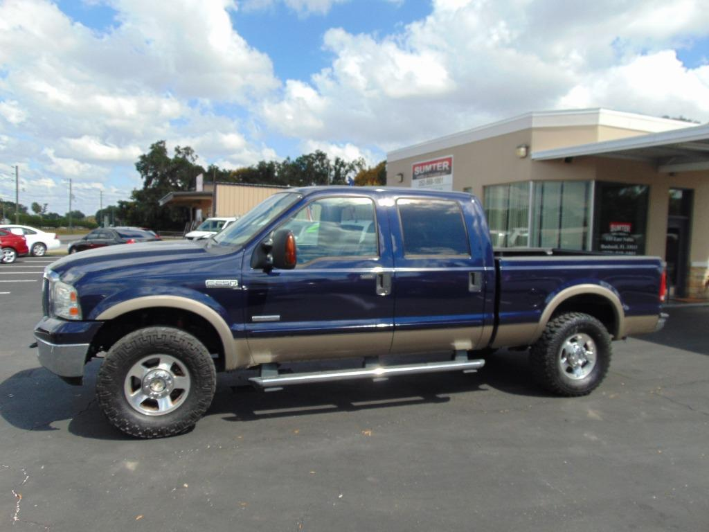 2002 Ford F 250 D07584 Sumter Cars And Trucks Inc Used 1969 Flatbed 2005 Super Duty Lariat Fx4 Crew Cab